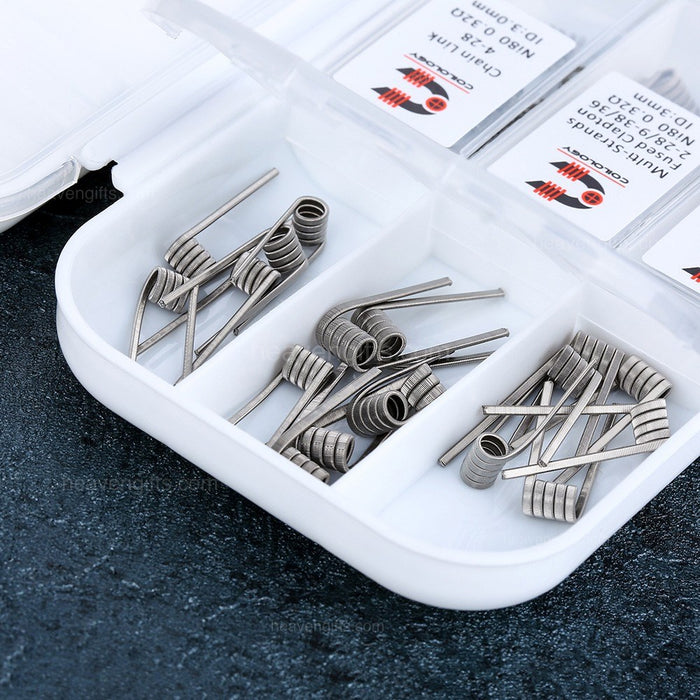 COILOLOGY Performance SS316L 7 in 1 Coil Set (42pcs)