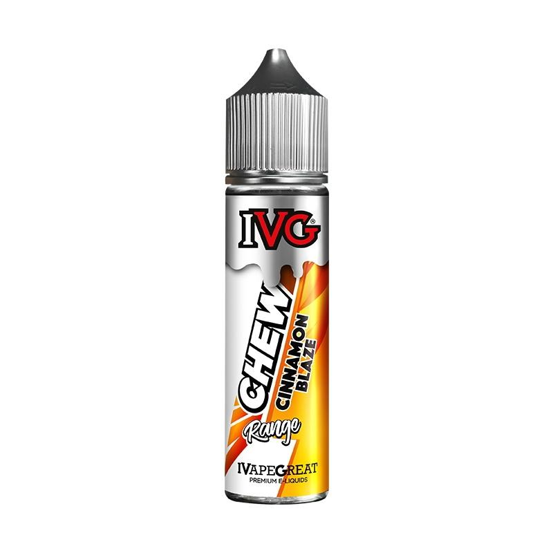 IVG Chews Range - Cinnamon Blaze (50ml Shortfill)
