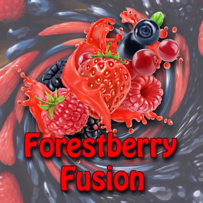 Mt Baker Vapor - Forestberry Fusion (eliquid 100ml)