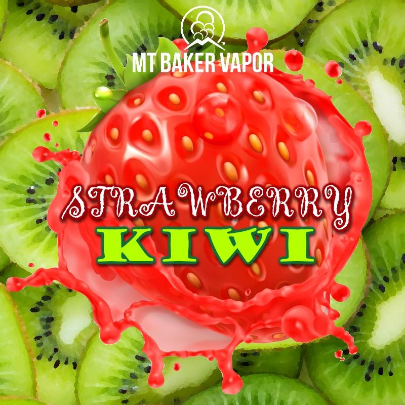 Mt Baker Vapour - Strawberry Kiwi (eliquid 100ml)
