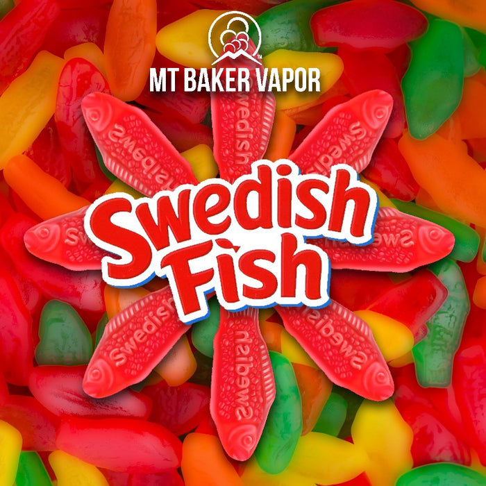 Mt Baker Vapor - Swedish Fish (100ml eliquid)