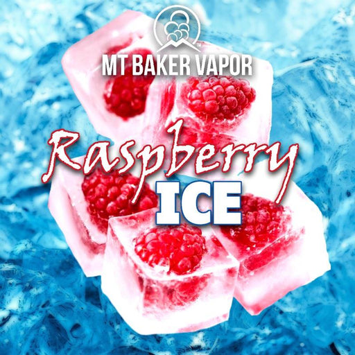 Mt Baker Vapour - Raspberry Ice (100ml eliquid)