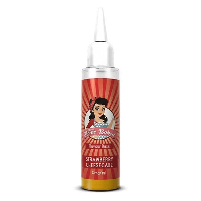Mums Home Baked - Strawberry Cheesecake (50ml Shortfill eliquid)