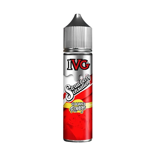 IVG Classic Range - Strawberry Sensation (50ml Shortfill)