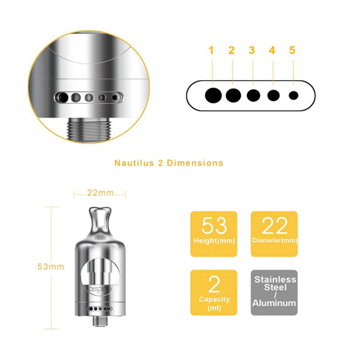 Aspire Nautilus 2 Tank (2ml)