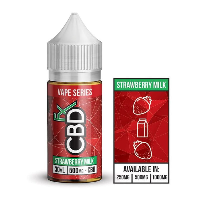 Strawberry Milk CBD Vape Juice (30ml eliquid)