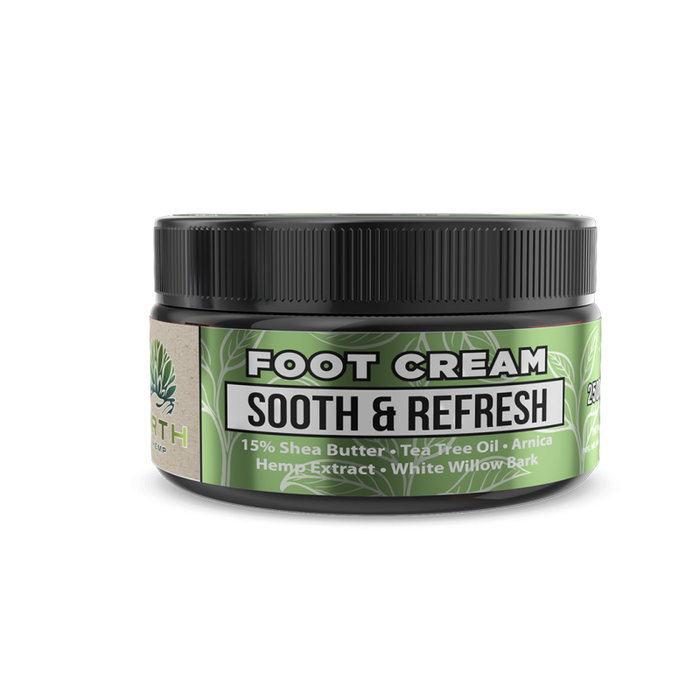 ERTH Sooth & Refresh CBD Foot Cream 250mg