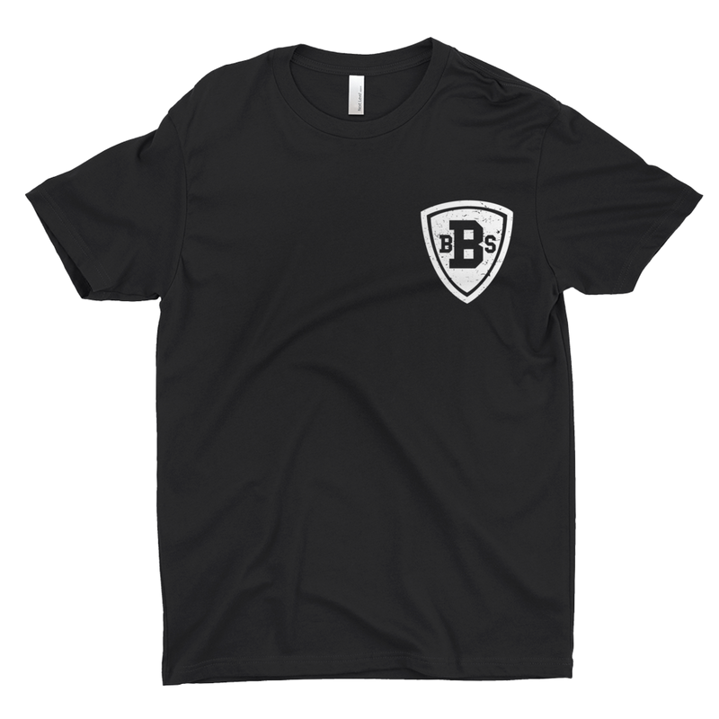 Black Business School Shield T-Shirt