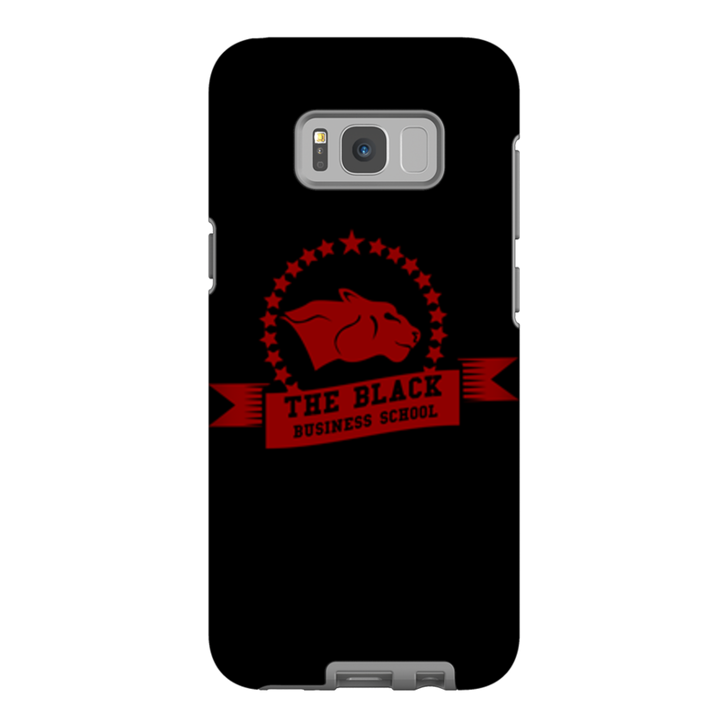 The Black Business School Banner Phone Case