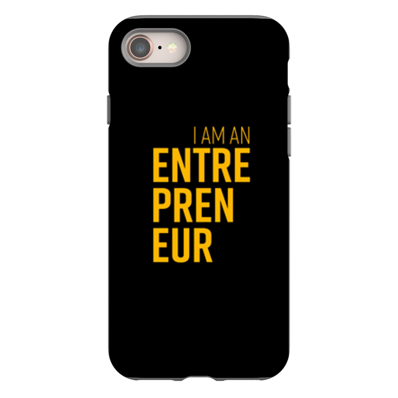 I Am An Entrepreneur Phone Case