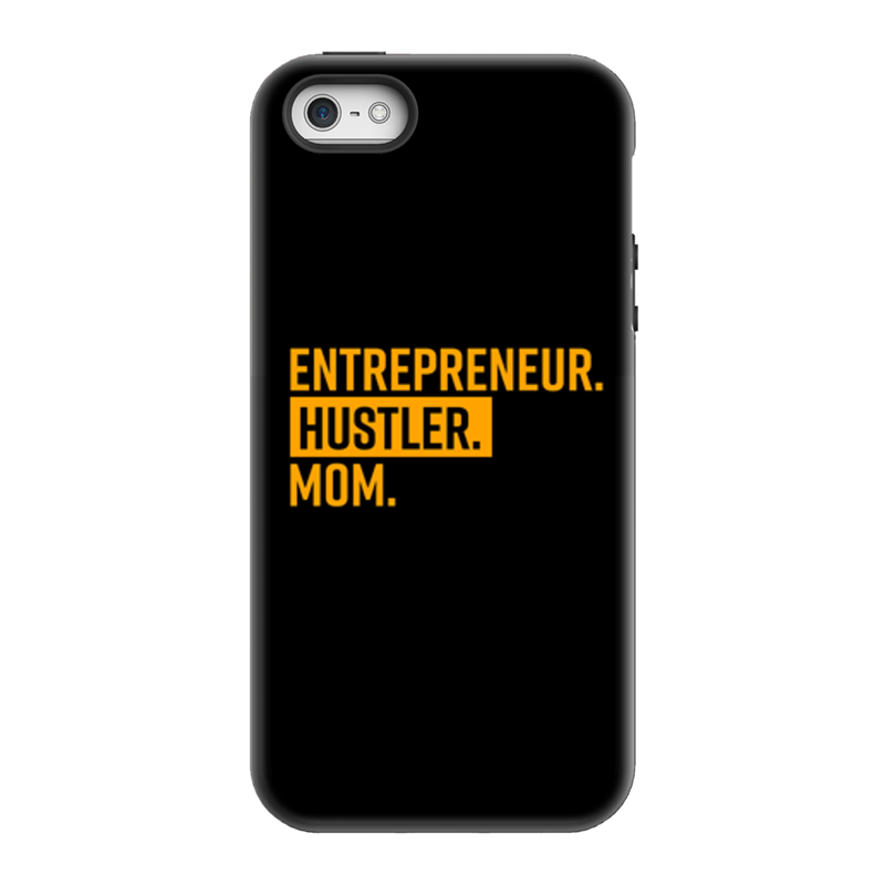 Entrepreneur. Hustler. Mom. Phone Cases