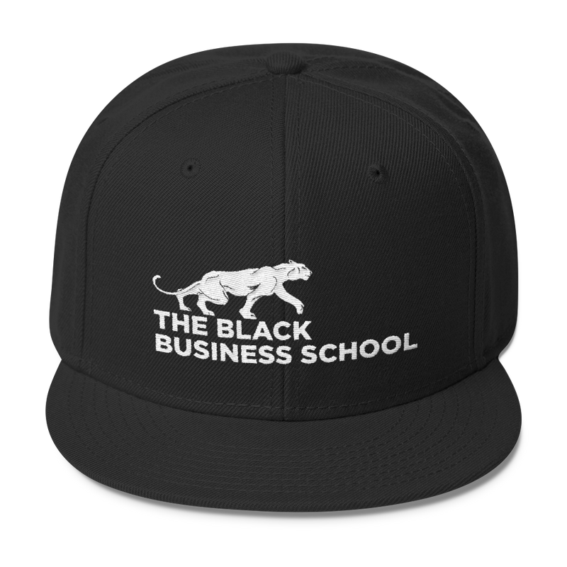 Black Business School Snapback