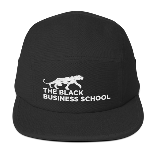 Black Business School Camper Hat