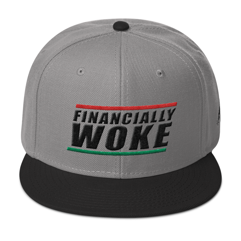 Financially Woke Snapback Hat