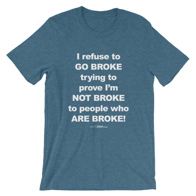 Don't Go Broke
