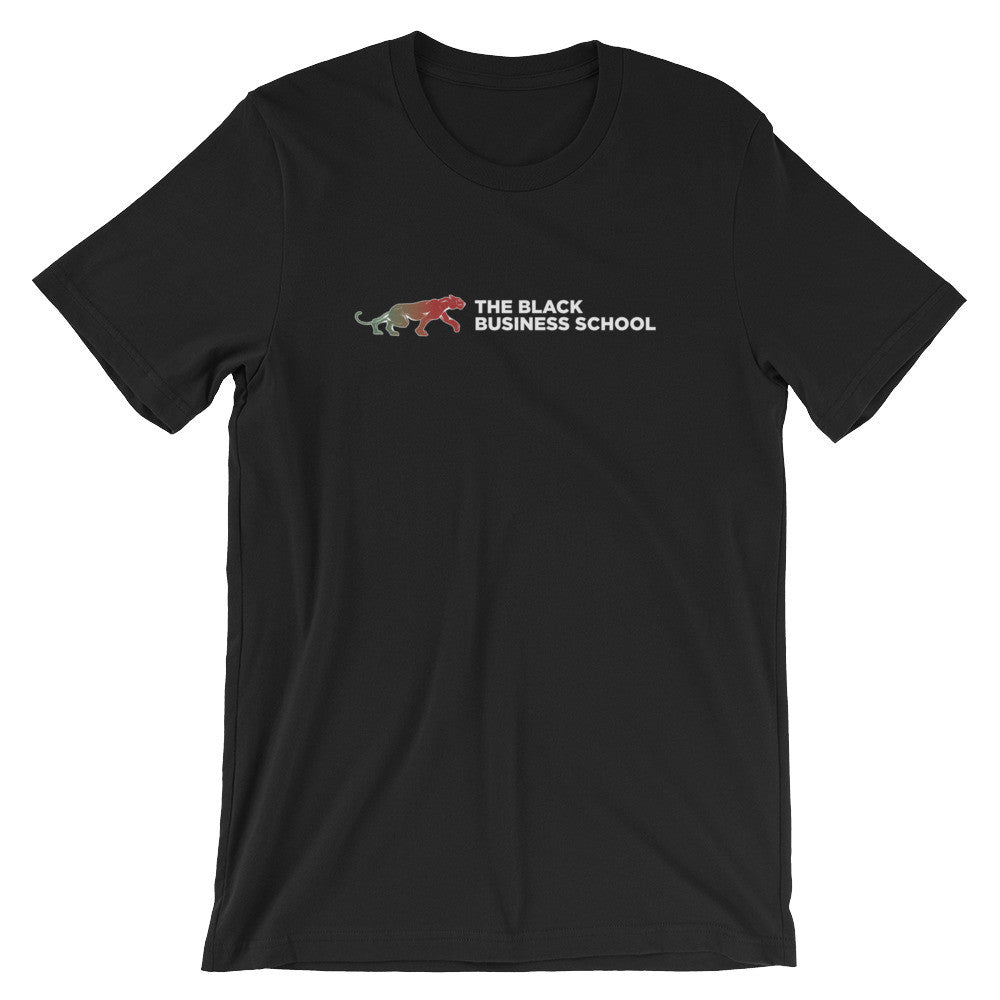 Black Business School Logo Tee