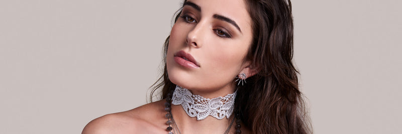 LACE CHOKERS
