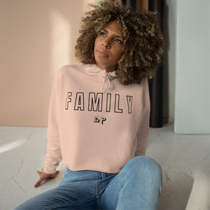 Family First Crop Hoodie