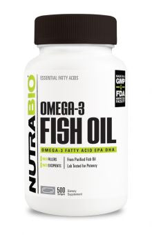 NutraBio - Omega 3 Fish Oil