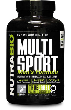 NutraBio - Multi Sport Vitamin Men's