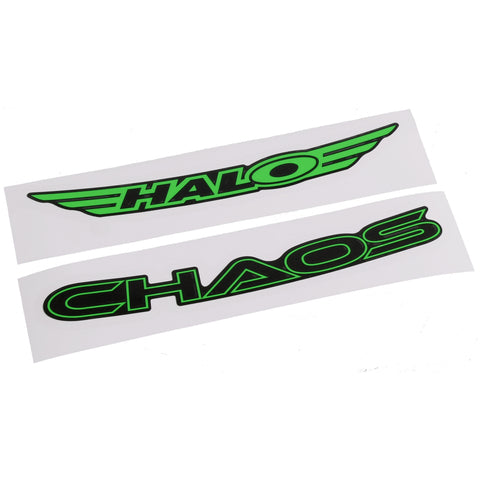 Chaos Rim Decals - green