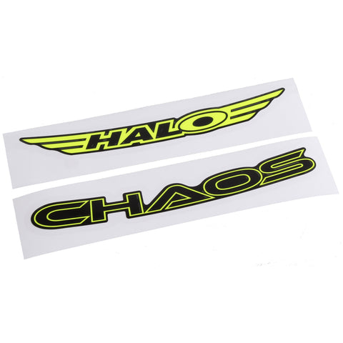 Chaos Rim Decals - yellow