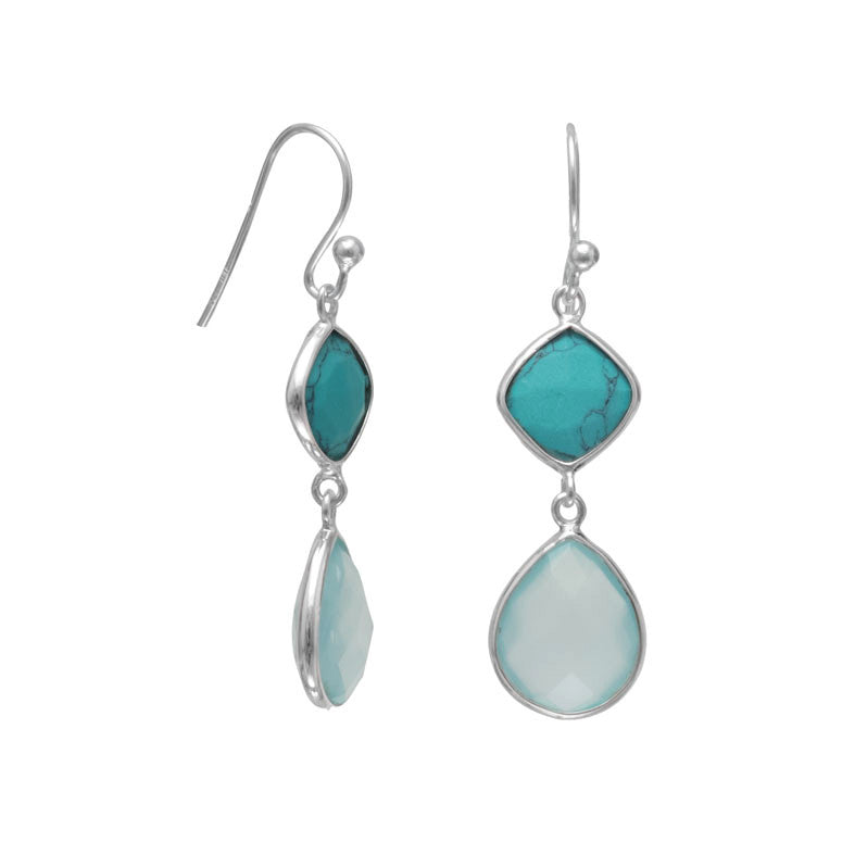 jewelry accessories s turquoise earrings dillards zi silver c women
