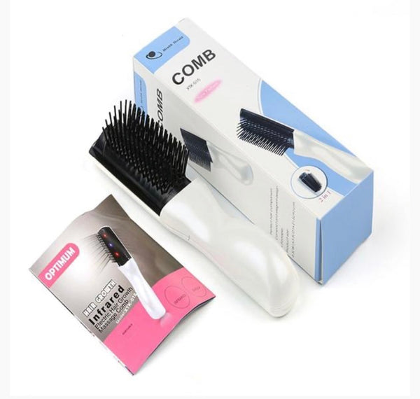 Super Fast Hair Growth Comb using Infrared & Vibrating Technology