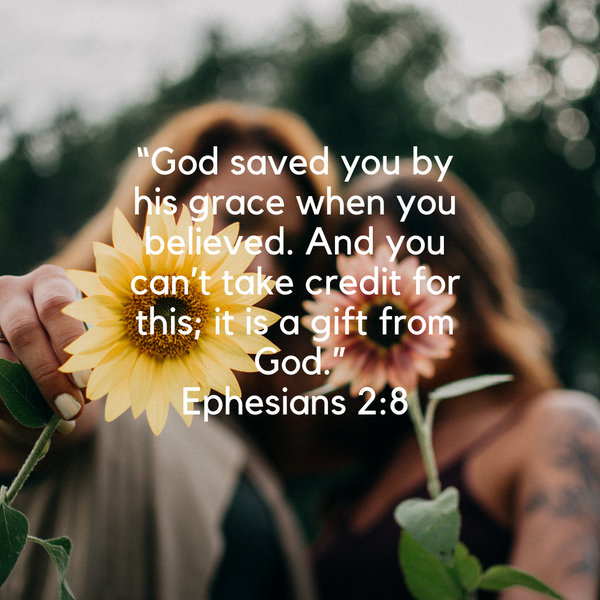 You Can't Earn His Grace