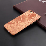 iPhone Wooden Hard Case