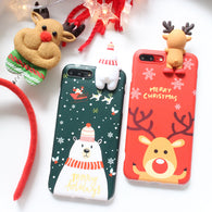 Awesome 3D Snowman iPhone Case for Christmas