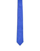 Silk Satin Tie Blue China