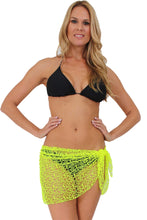 Load image into Gallery viewer, Crochet Sarong Short Length