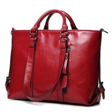 Load image into Gallery viewer, 2017 New Fashion PU Leather Bags Tote Women Leather Handbags Women Messenger Bags Shoulder Bags Hot Vintage Bags Popular