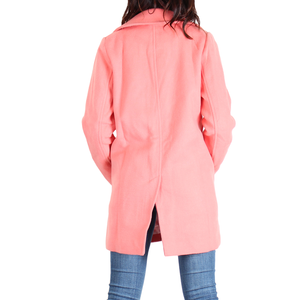 Urban Diction Coral Wool PPA Coat