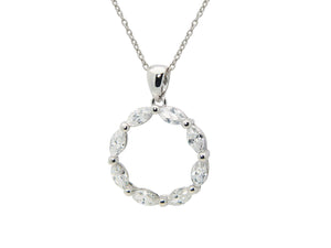 Eternity Bridal Necklace