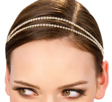 Load image into Gallery viewer, Dainty Rhinestone Headpiece