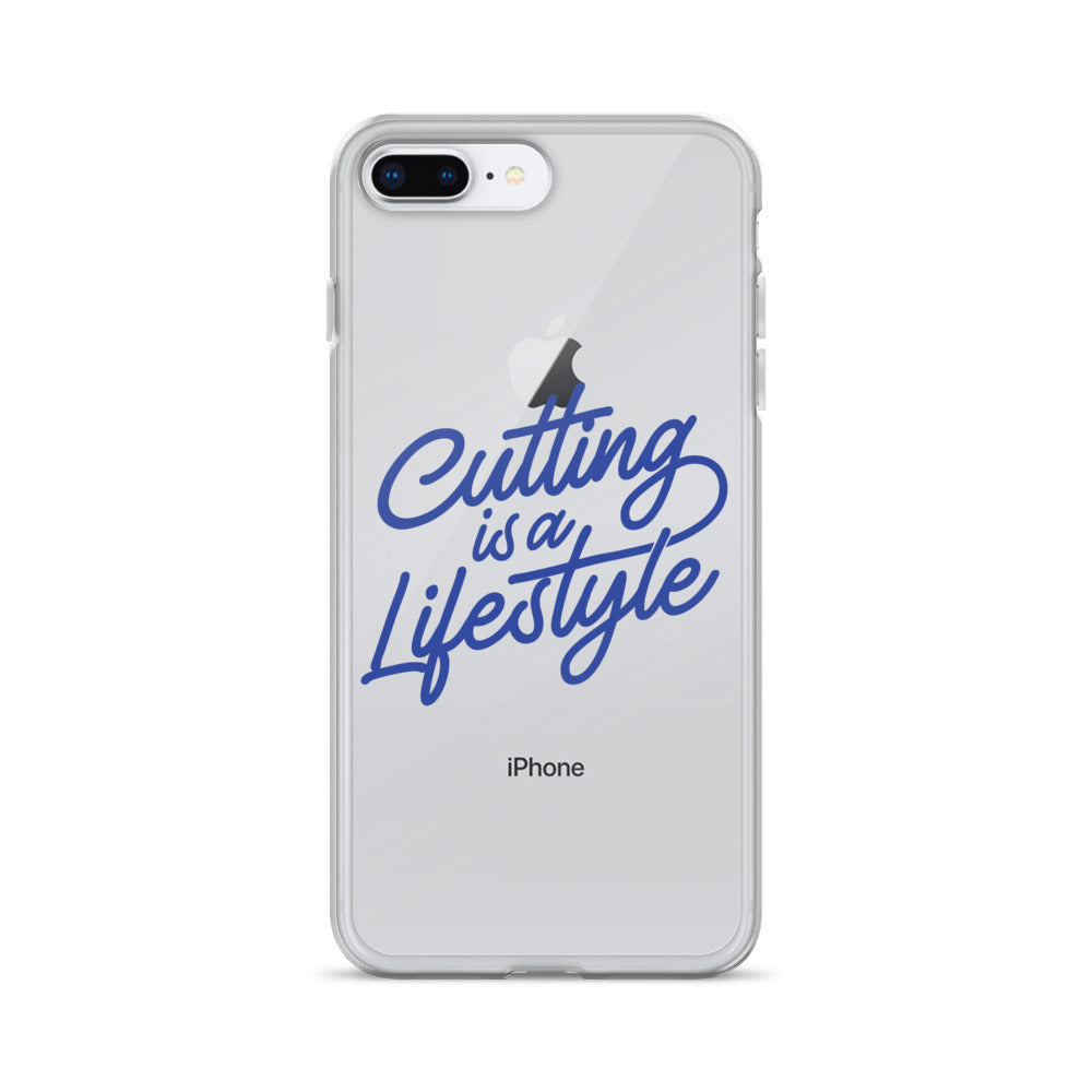 Cutting is a Lifestyle💈 IPhone Case