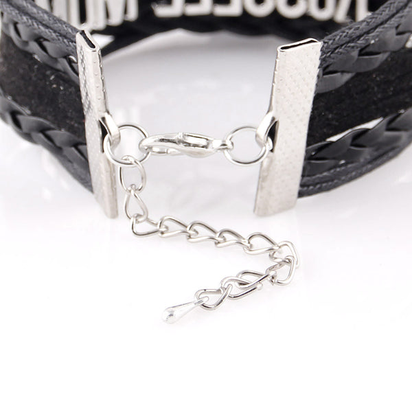 Lady Barber Leather Bracelet for women