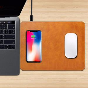 2 in 1 Wireless Charger Mouse Pad
