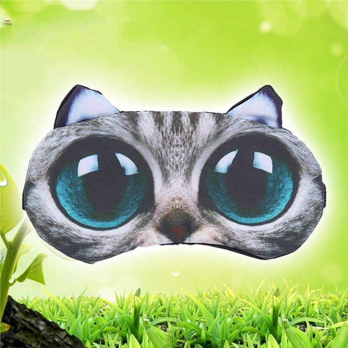 Big Eyes Cat Mask