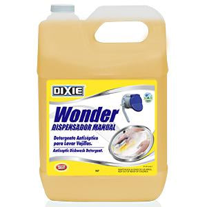WONDER DISPENSADOR MANUAL - ENVASE 2.5 GALONES (9.46 LITROS)