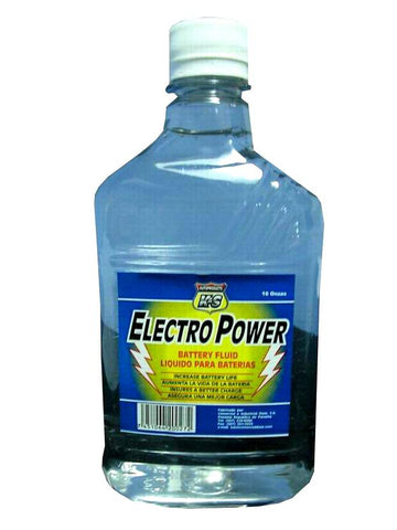 Electropower Claro K&S - Botella 16 OZ.