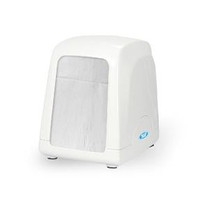 -DISPENSADOR DE SERVILLETAS PERKY PARA MESAS; BLANCO; MASTER DIRECT No. AH51000.