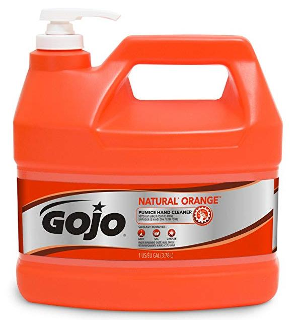 GOJO NATURAL ORANGE PUMICE HAND CLEANER, GALON.