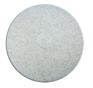 "-PAD BEIGE/PELO NATURAL DE 17"" DE DIAMETRO, DIXIE No. 401717."