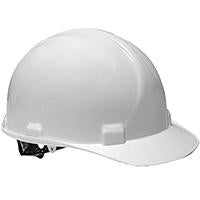 -CASCO DE SEGURIDAD HDPE, 4 PUNTOS SUSPENSION, AJUSTE TIPO PIN, BLANCO PEAK NORTH No. A59010000.