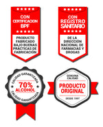 Alcohol en Gel - Alcogel - Botella de 33.8 oz (1 Litro) con Bomba Dispensadora