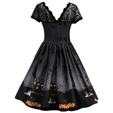 Witch's Vintage Gown Evening Dress