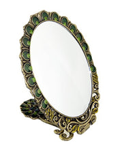 Witch's Bronze Tail Peacock Hand Mirror by WEICHUAN